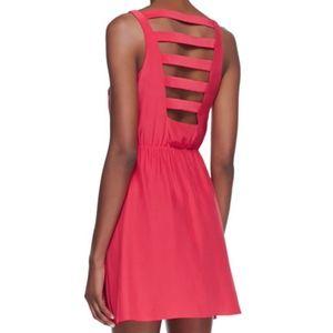 Amanda Uprichard Chloe Strappy Silk Dress